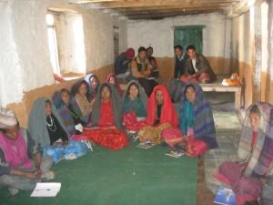 Le donne al corso di formazione