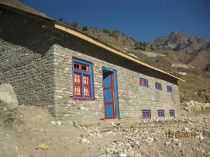 Il magazzino costruito nel 2011-12 a Urtu