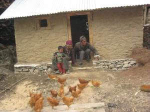 Una famiglia di beneficiari