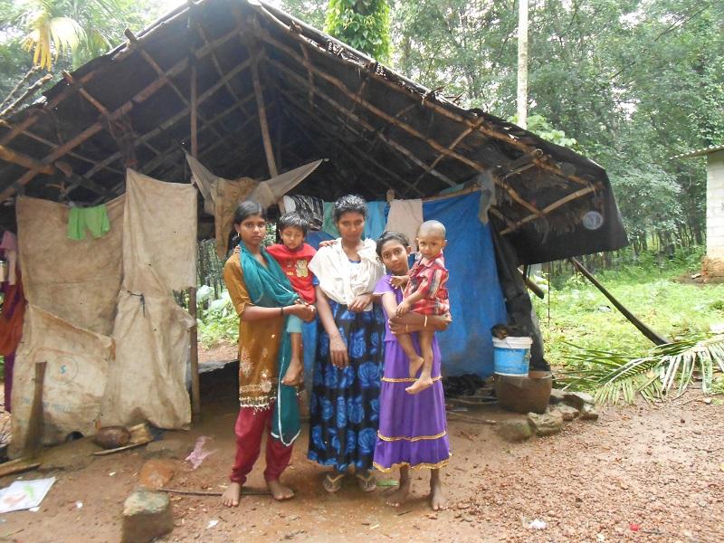 una delle famiglie inserite nel progetto