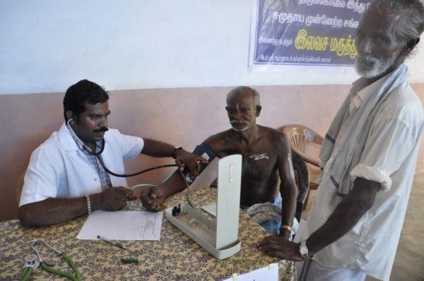 Partita la prima fase del progetto di dispensario diffuso in Tamil Nadu